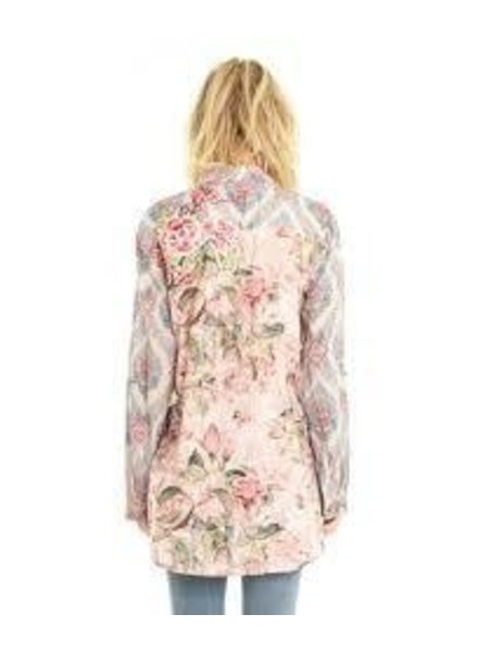 Aratta Aratta's Rodeo Drive Shirt In Pastel Pink