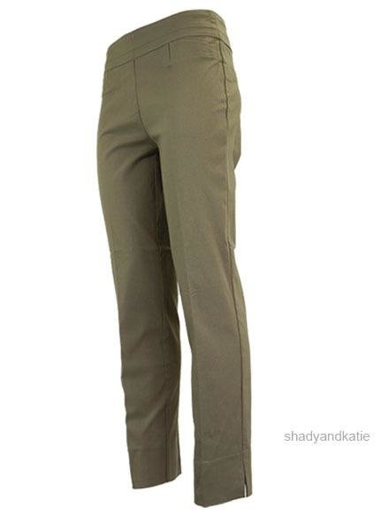 Renuar The Ankle Cigarette Magic Pant In Fawn