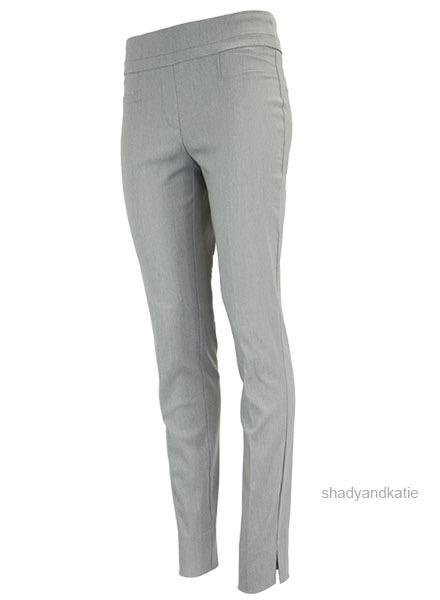 Renuar The Long Cigarette Pant In Heather Silver