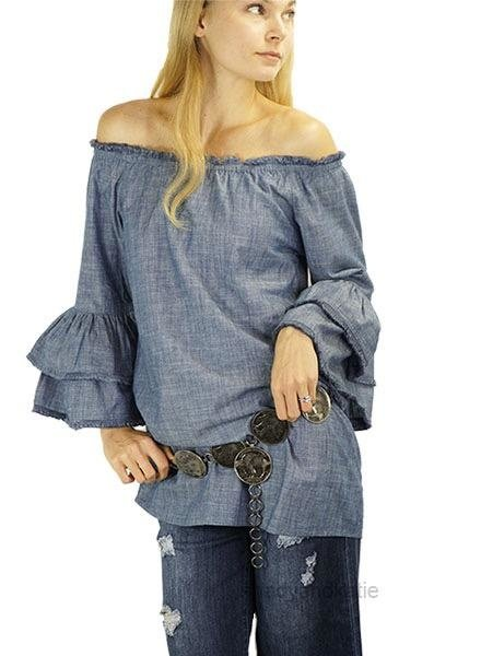 Fringed & Bell Top