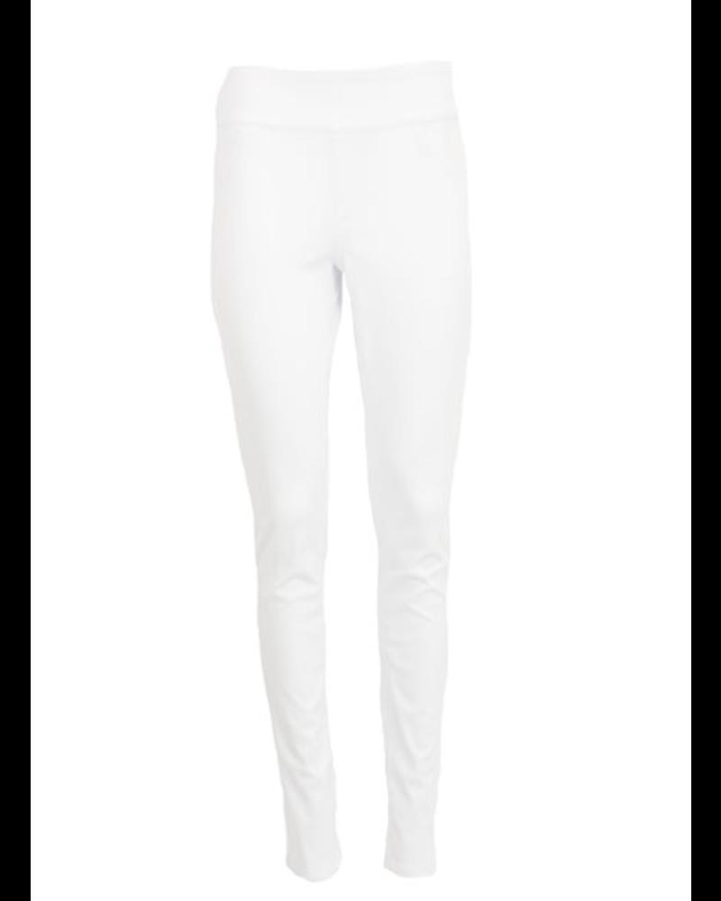 French Dressing Love Denim Slim Jegging In White Denim