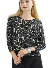 Comfy's Sun Kim Lisa Topper In Knit Spot