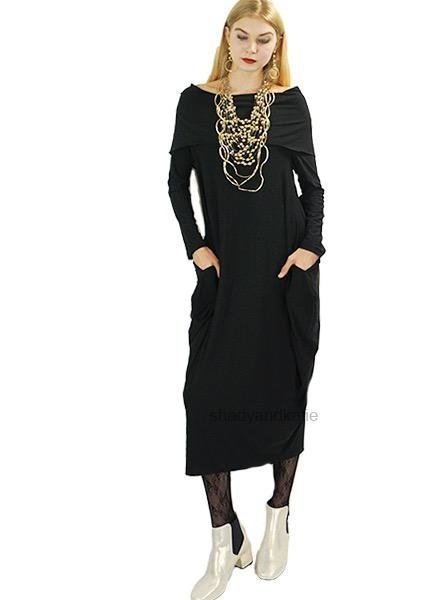 Comfy's Sun Kim MaryAnn Dress In Black
