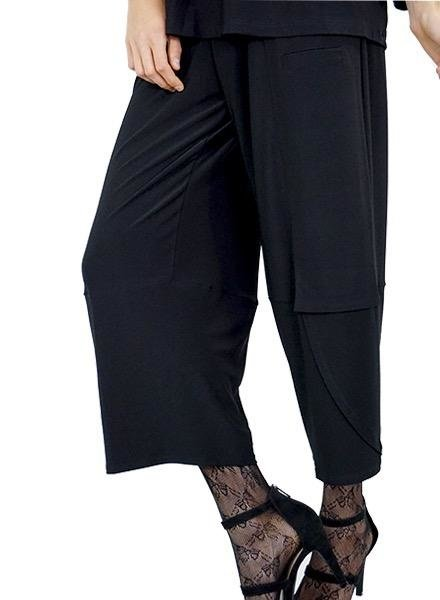 Comfy's Sun Kim Anna Pants In Black