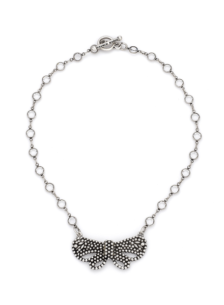 French Kande French Kande Swarovski Chanel Set & Papillon Pendant