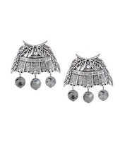 French Kande French Kande Silver Chateau Earrings & Pearls