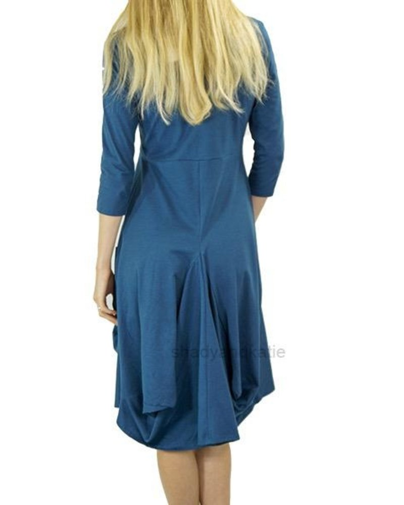 Just Jill Sonoma Dress In Turkish Blue