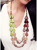 Tagua Marlene Necklace In Multi