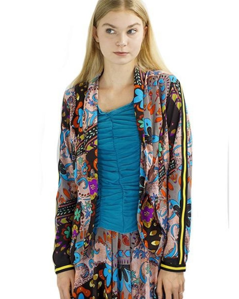 Petit Pois Blazer In Quilted Autumn