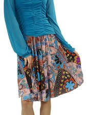 Petit Pois Quilted Autumn Skirt