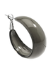 Mod Resin Hoops In Grey