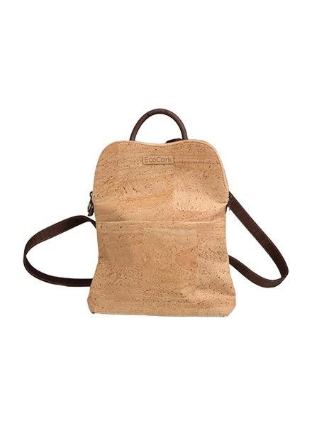 Eco Friendly Cork Lil' Backpack In Natural