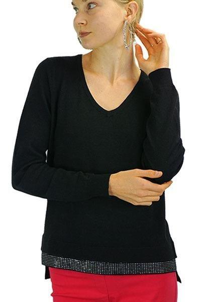 Renuar Renuar's Pullover Sweater In Black
