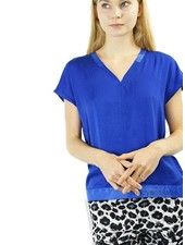 Renuar Renuar's Ribbon Top In Royal Blue