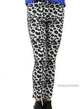 Renuar Renuar's Leopard Cigarette Pant