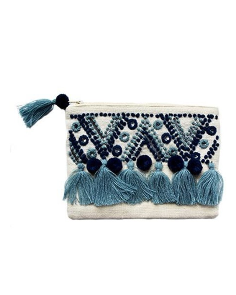 1968 The Chrissy Pouch Bag In Blue
