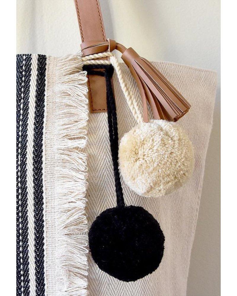 1968 The Sarna Tote Bag In Black