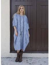 Betty Hadikusumo Betty Hadikusumo Abigail Dress In Blue Stripe