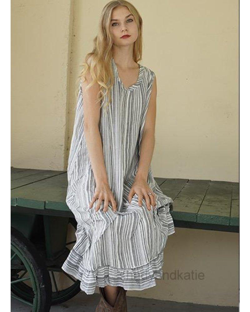 Betty Hadikusumo Betty Hadikusumo Tank Dress In Black & White