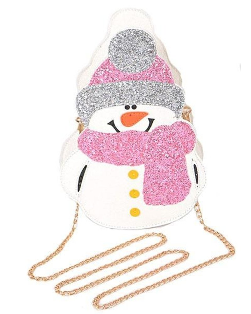 Frosty The Snowman Crossbody