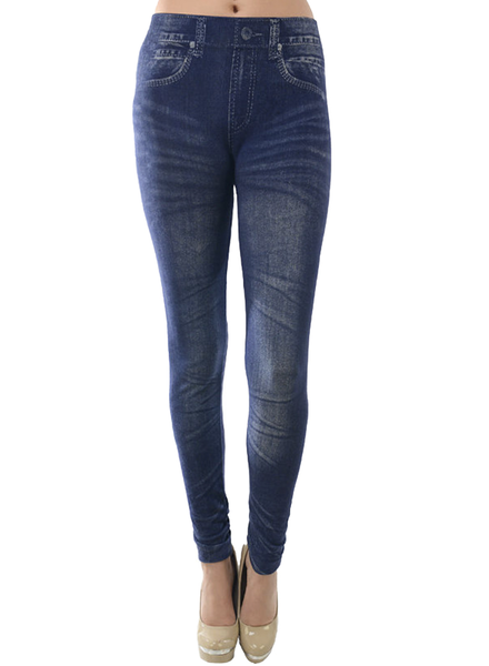 """Faux"" Jean Leggings"