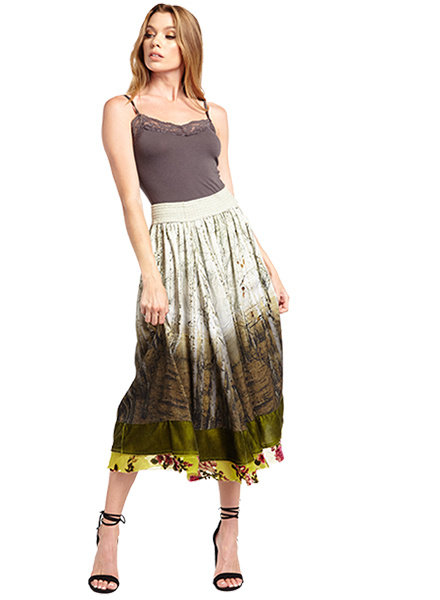 Aratta Aratta's Washed Forest Skirt