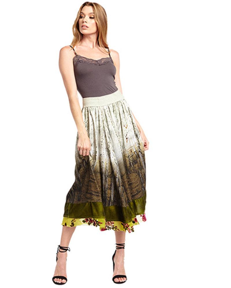Aratta Aratta's Washed Forest Skirt