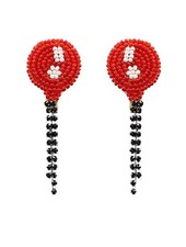 My Red Baloon Earrings