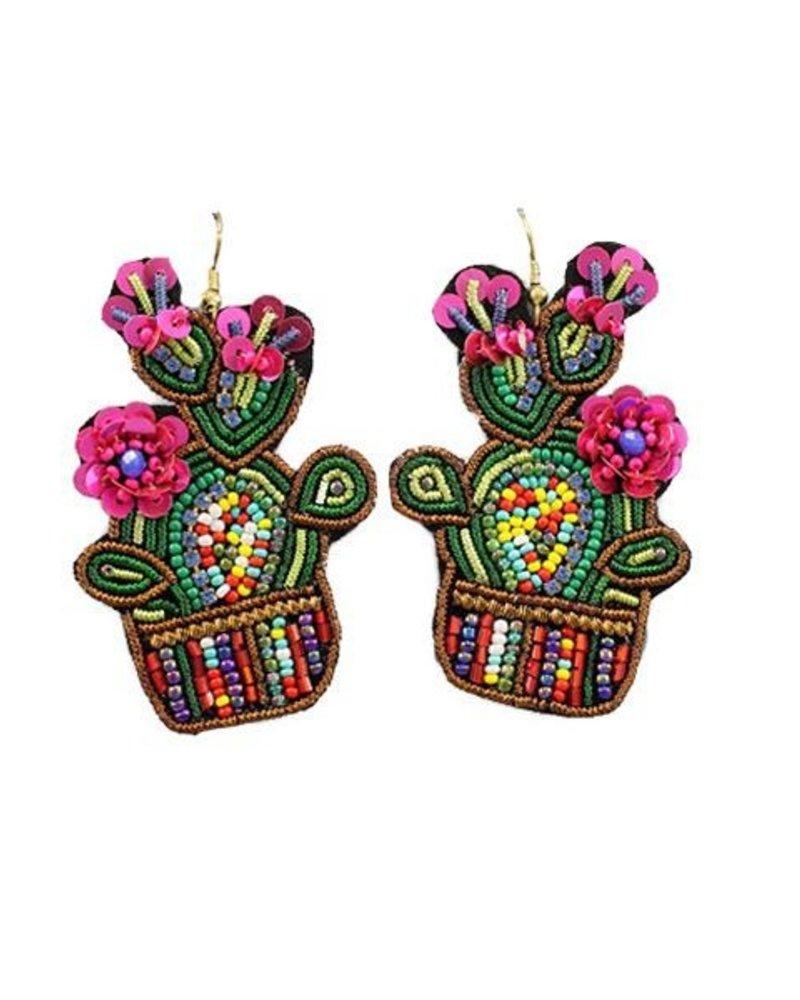 Beautiful Cactus Earrings