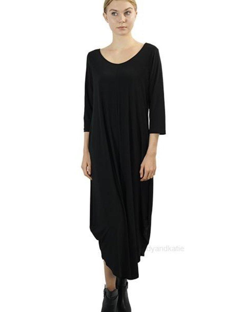 Comfy's Sun Kim Armani Jumpsuit In Black