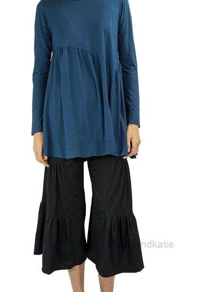 Just Jill Cropped ChaCha Pant In Black