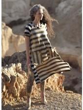 Alembika Alembika Tunic Dress In Stripes