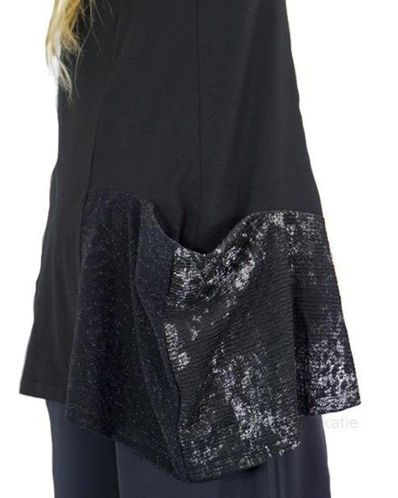 Alembika Alembika Silver & Black Tunic