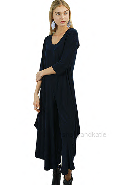 Comfy's Sun Kim Armani Jumpsuit In Denim