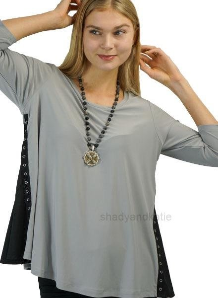 Comfy's Sun Kim Gina Top In Metal