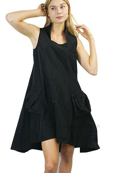Comfy's Sun Kim Memory Dress In Black