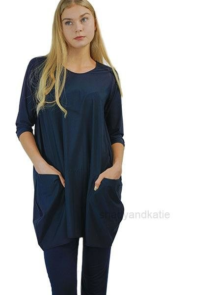 Comfy's Jason Portofino Tunic In Navy