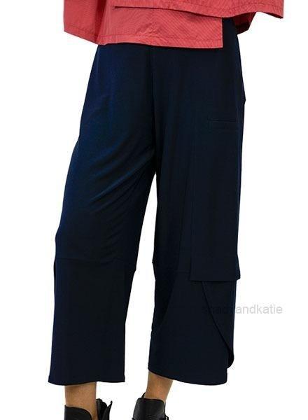 Comfys Sun Kim Anna Ankle Pant In Denim Blue