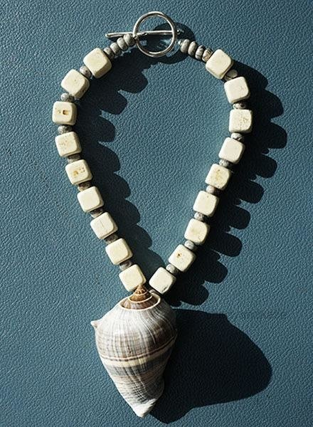 Martha Bennett Martha Bennett White Buffalo Turquoise Necklace