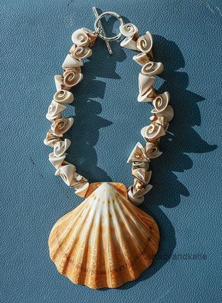 Martha Bennett Martha Bennett Scallop Shell Necklace