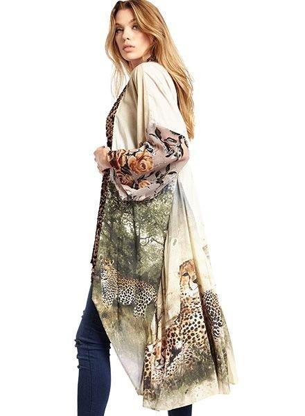 Aratta Aratta's Cheetah Kimono