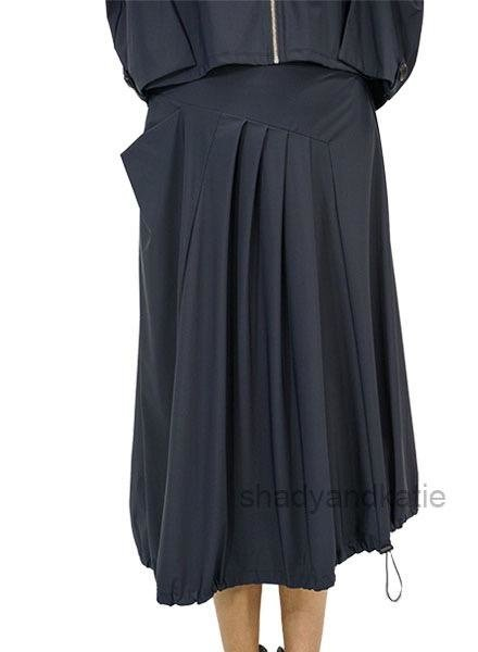Comfy's Jason Dominique Skirt In Navy