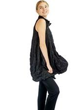 Comfy U.S.A. The Verona Vest In Black