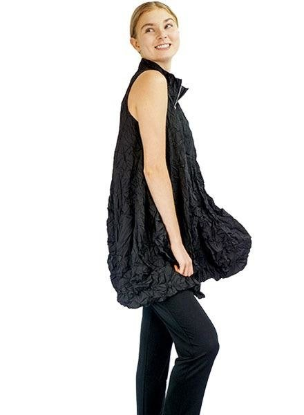 Comfy U.S.A. The Verona Vest In Black