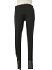 Comfy U.S.A. Comfy Long Legging With Mesh Contrast in Black