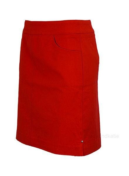 Renuar Renuar's Two Pocket Skort In Lipstick