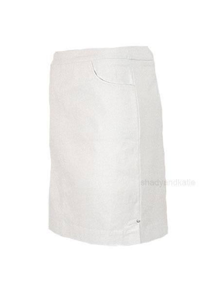 Renuar Renuars Two Pocket Skort In White