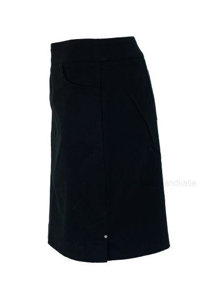 Renuar Renuar's Two Pocket Skort in Black
