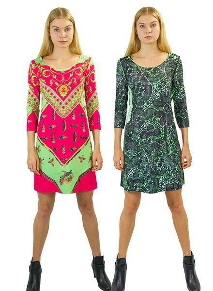 Animapop Animapop Feathers & Lace Dress