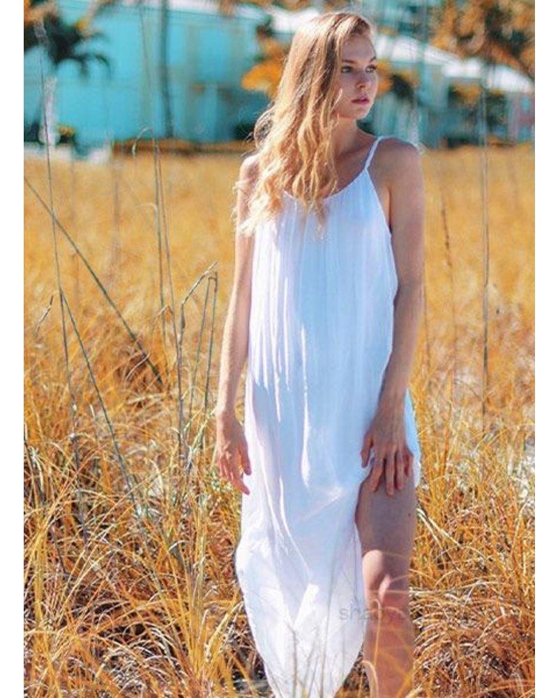 Goddess Dress In White